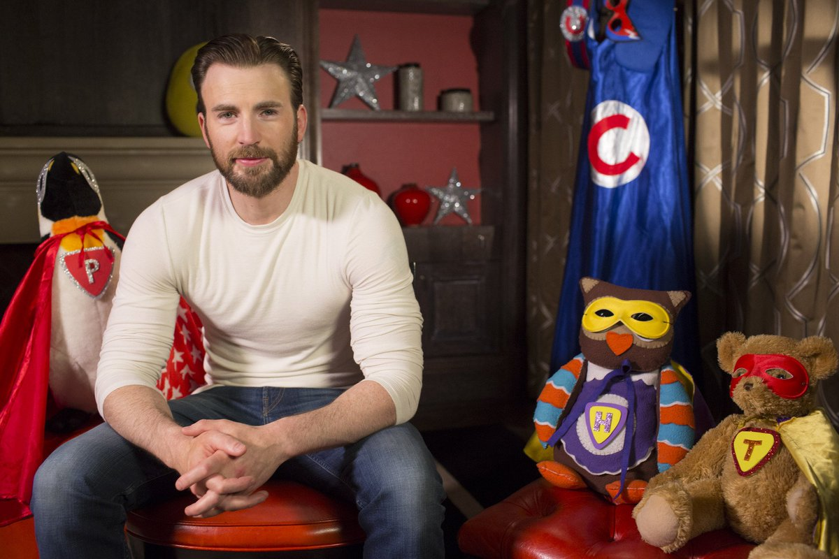Captain America star Chris Evans to read superhero bedtime story to CB...