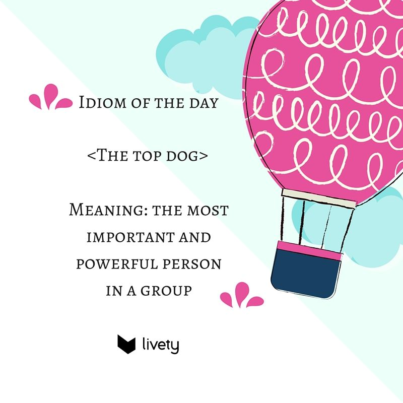 John was &quot;the top dog&quot; of the class and he always achieved what he wanted #Englishidioms <br>http://pic.twitter.com/h9PvCqjTxz
