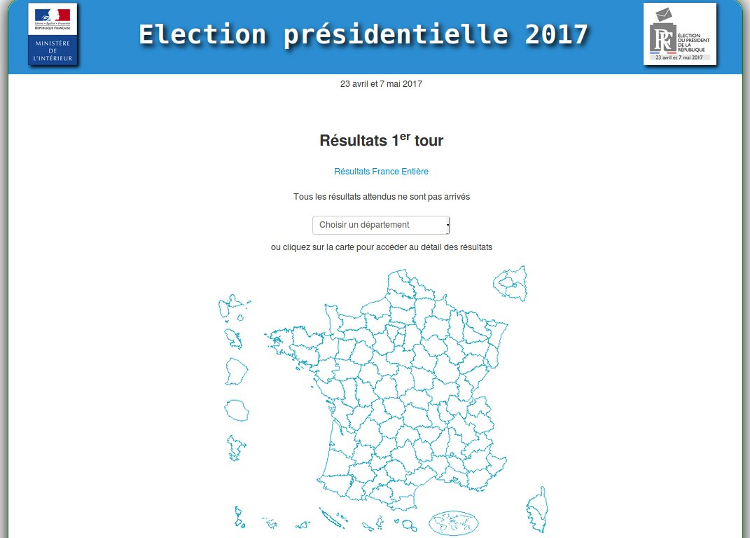 Minist re int rieur on twitter retrouvez les r sultats for Election ministere interieur