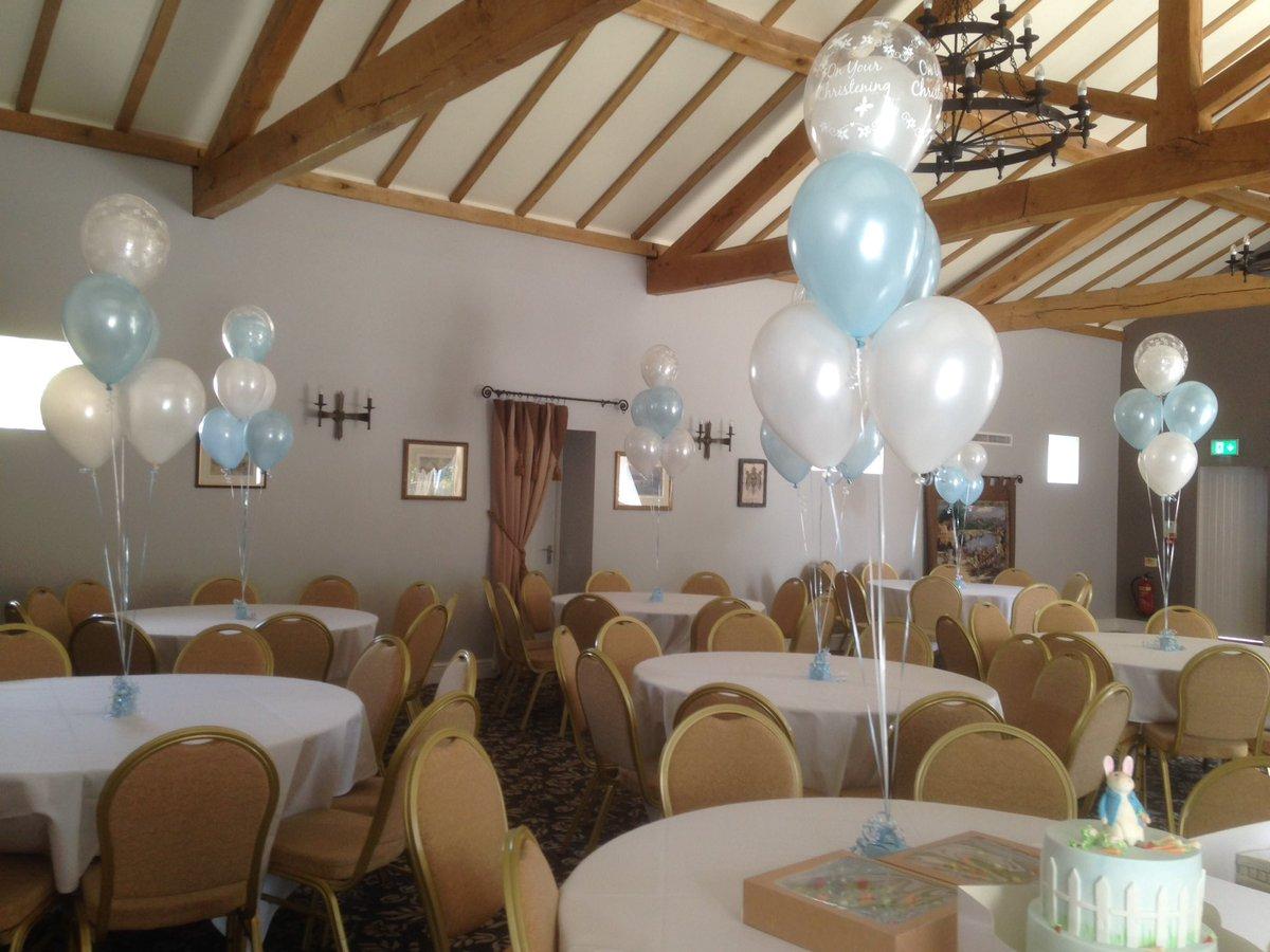 Lovely #PeterRabbit themed #Christening #party #balloons @TheVillaDuck<br>http://pic.twitter.com/MepU52TAK6
