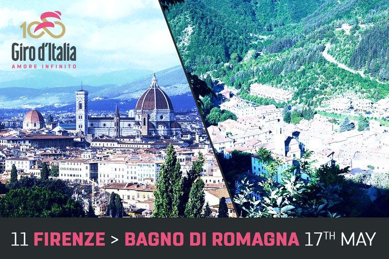 GIRO d'Italia 2017 Tappa 11: Diretta Firenze Bagno di Romagna Streaming con Dumoulin in Maglia Rosa