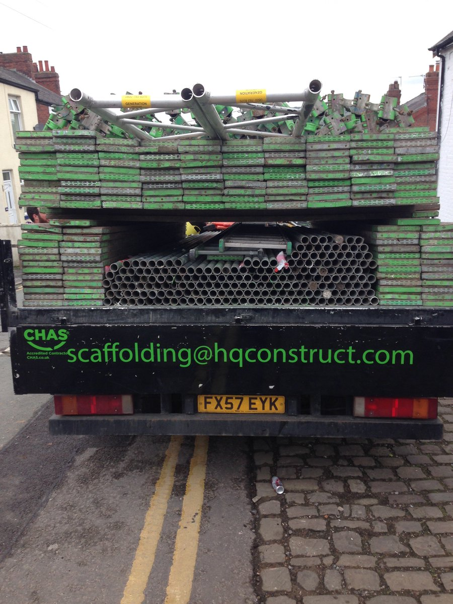 New @CHAS2013Ltd sticker looking well #loveMondays #18ton #scaffolding #chas #iveco #scaffold #hqconstruct #manchester #fullload<br>http://pic.twitter.com/VoXOf7K7qo