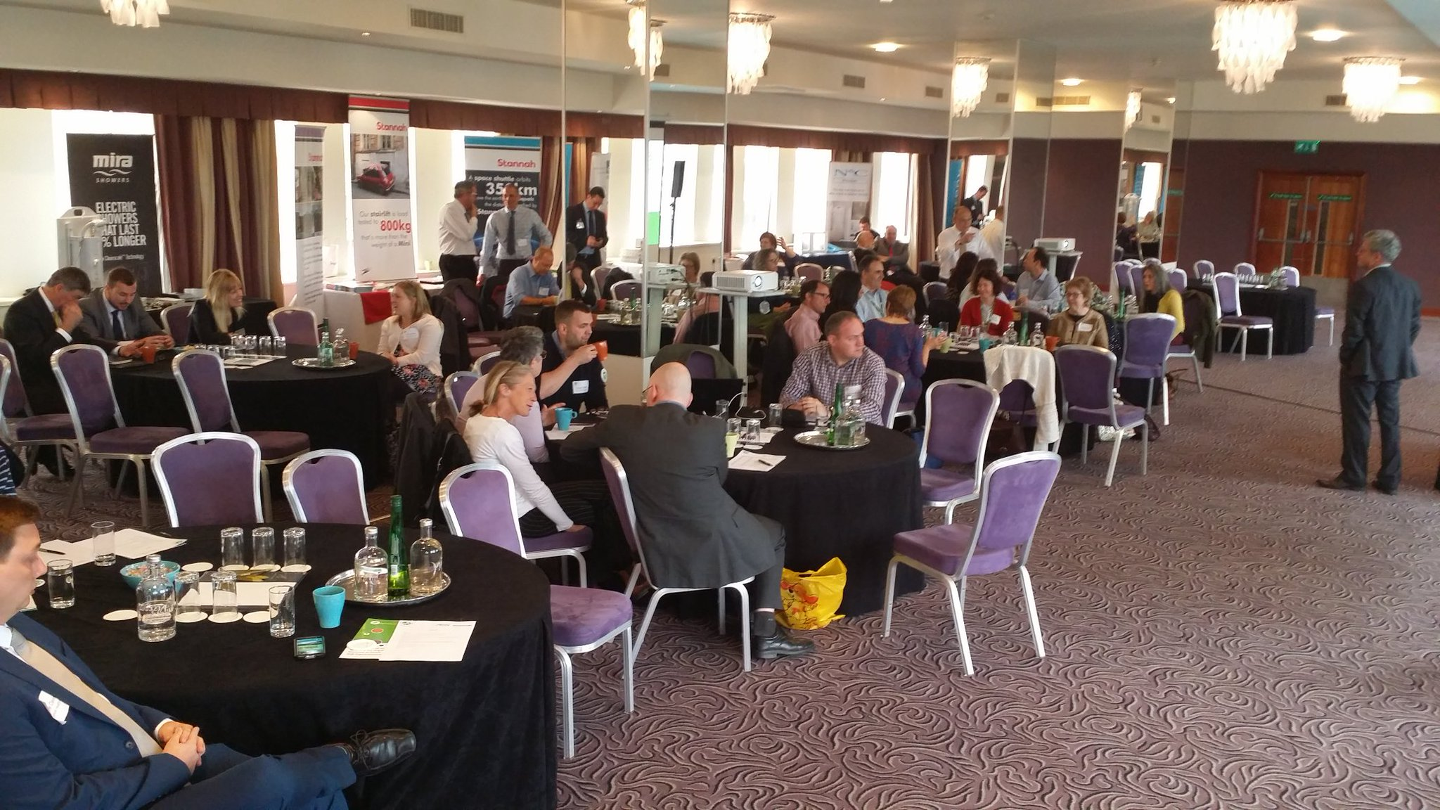 Bristol @FoundationsHIA  DFG Roadshow about to kick off. Great to see so many are making better use of growing allocations #DFGChampions https://t.co/C4QUxcT56U