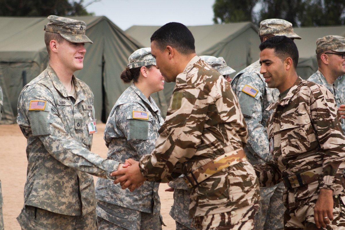 """انطلاق مناورات """"الأسد الإفريقي 17 """" في المغرب بمشاركة أمريكية C-KyEe2XoAAZM-D"""