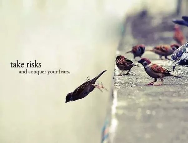 Take risks! Conquer your FEARS! #mondaymotivation #MondayMorning #Entrepreneur #success #MakeYourOwnLane #MOTIVATIONMONDAY #defstar5 #mpgvip<br>http://pic.twitter.com/rrVTDepuFl