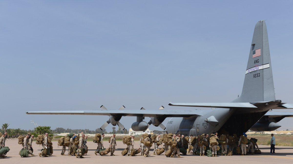 """انطلاق مناورات """"الأسد الإفريقي 17 """" في المغرب بمشاركة أمريكية C-KzIowXoAAcKIg"""