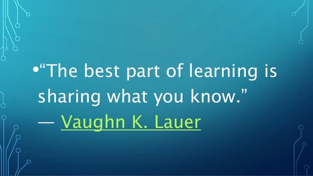 I started growing the day I made the decision to share knowledge.  #Learn #Lead<br>http://pic.twitter.com/dxb6mWkQ6Z