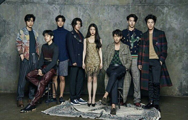 Scarlet Heart Ryeo On Twitter Throwback When The Cast Had Photoshoot For Cosmopolitan Korea Moonlovers Scarletheartryeo Throwback
