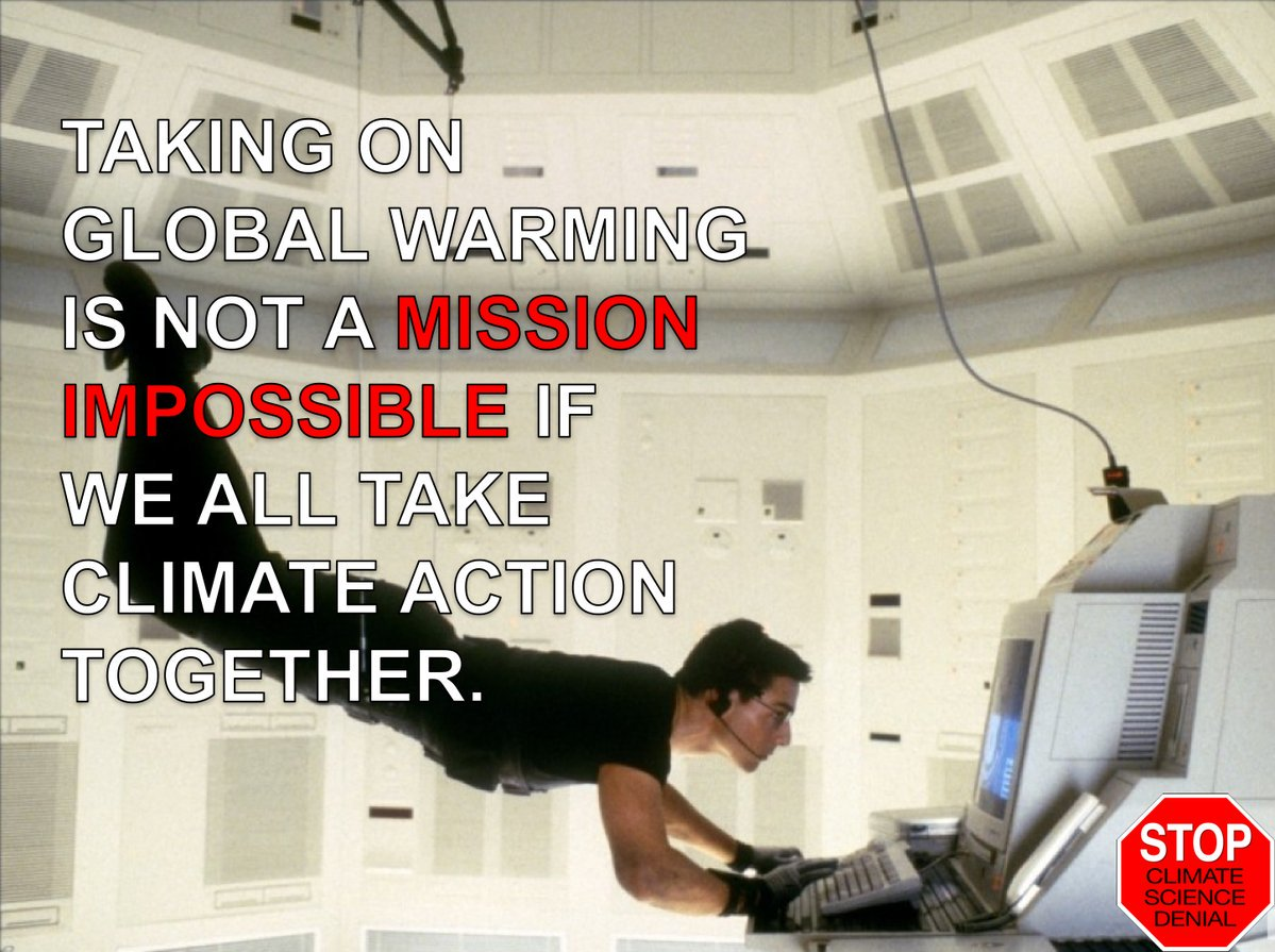 Great #Climate Movie Meme - Ethan Hunt Knows Taking On #ClimateChange Is NOT A Mission Impossible via @AllanMargolin<br>http://pic.twitter.com/eoWo5upsfS