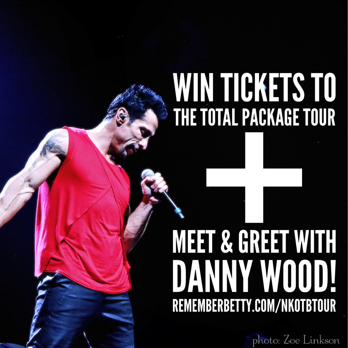 Happy @NKOTB Day! Celebrate by entering to win #TotalPackageTour tix + M&G with @dannywood! https://t.co/9l3DP1KzUl https://t.co/Jv3kiAnOfB