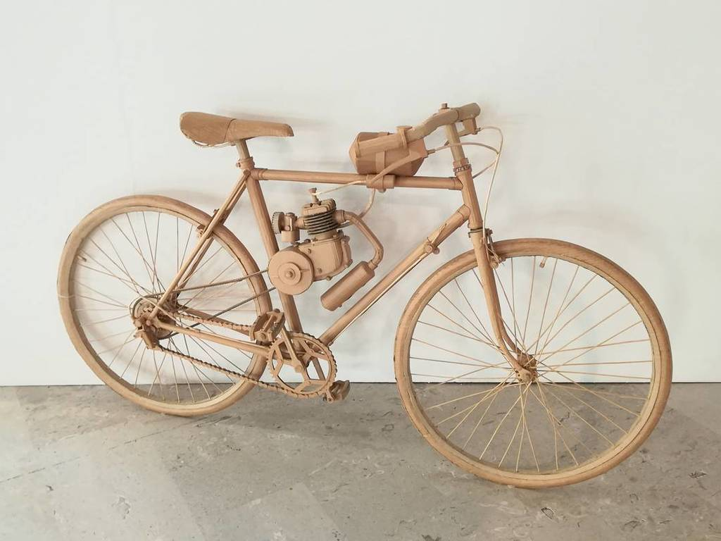 #chrisgilmour #bicycle #recycled #cardboard #sculpture #gcac #galleriamonfalcone #monfalcone https://t.co/KkTdDCdXYg