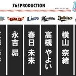 【アイドルマスターシリーズ×パ・リーグコラボ/P@cific League】パリーグの全6球団を、プ…