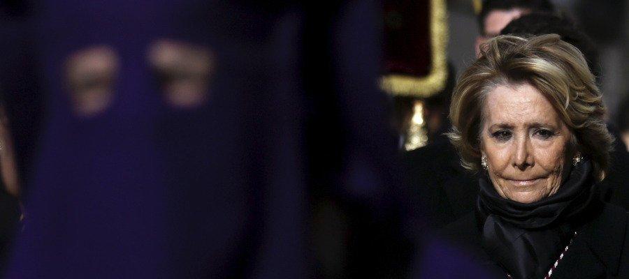 #ÚLTIMAHORA: Esperanza Aguirre dimite como Portavoz del  PP en el Ayun...