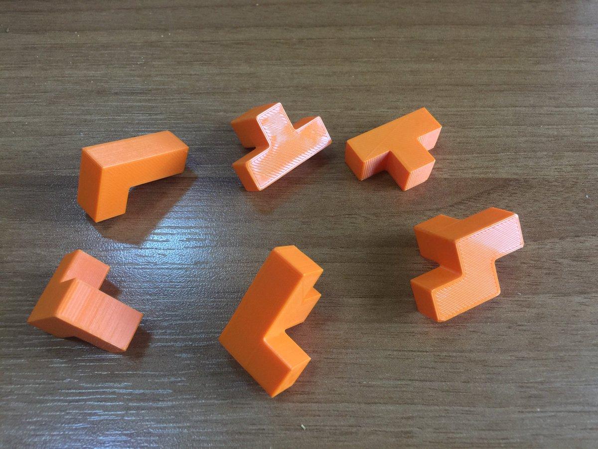 Another brain teaser.. 9x9 cube ?? @YakinDoguUni @yduhaber #3dprinting #3dprint #3dinnovation #tech #engineering #3dmakers #3d #PLA #stem<br>http://pic.twitter.com/uuiFHePtvp