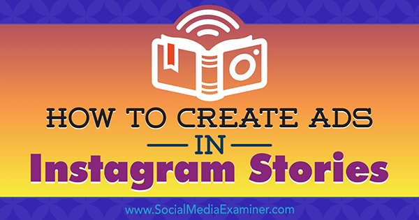 How to Create Ads in Instagram Stories: Your Guide to Instagram Stories Ads  https:// goo.gl/wahe4J  &nbsp;   #socialmedia <br>http://pic.twitter.com/by7ddk461f