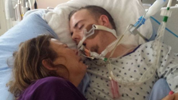 Calgary mother hopes photo of dying son will deter others from doing f...