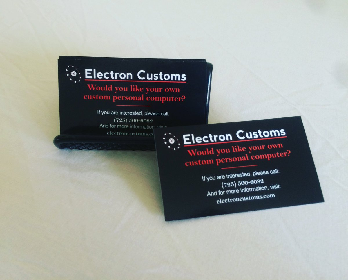 NEW BUSINESS CARDS!! #businesscards #busuness #card #design  Contact us: electroncustoms@gmail.com  http:// electroncustomsystems.com  &nbsp;  <br>http://pic.twitter.com/XojBh4W2S5