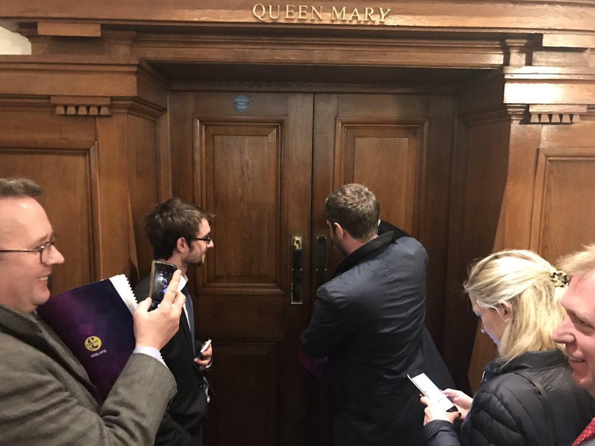 Paul Nuttall is currently locked himself in this room and is refusing to say if he will fight a seat at the election.