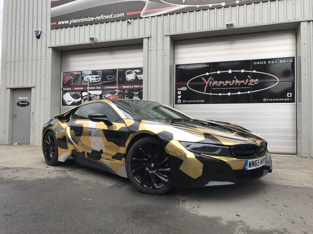 Yianni Charalambous On Twitter Camo Bmw I8 For Master Ov