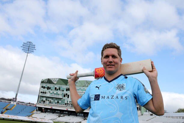 A second century in the match for @YorkshireCCC captain Gary Ballance....