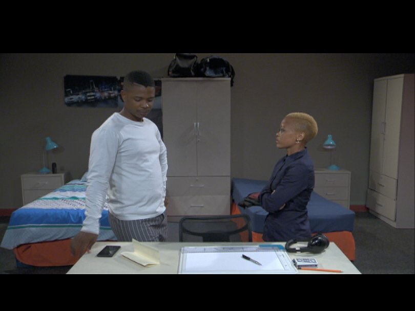 Tonight on #SkeemSaam:  Emkay and Rachel try to squash the tension bet...