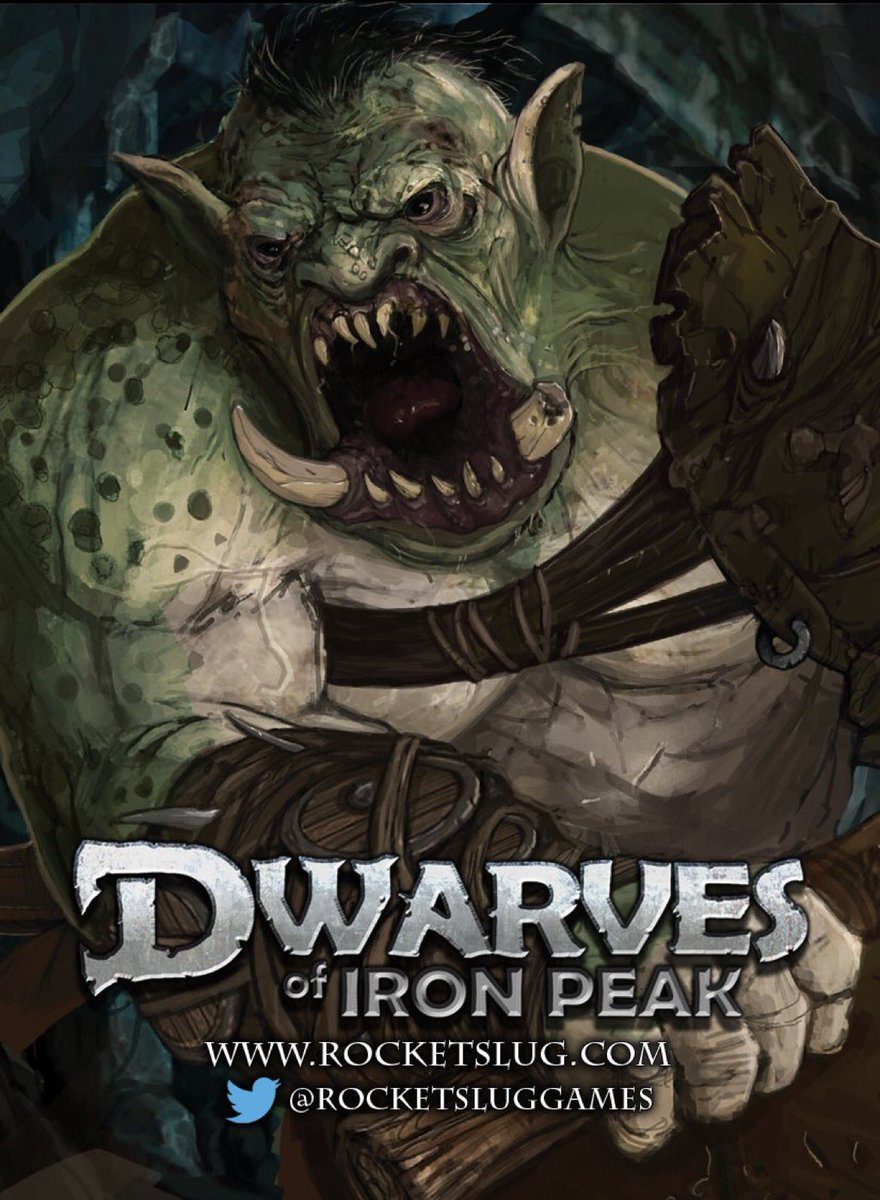 Let the Troll win. - Dwarves of Iron Peak   http:// rocketsluggames.com  &nbsp;    #boardgames #indiegame #doip #troll #gamedev<br>http://pic.twitter.com/am6cdXVszU