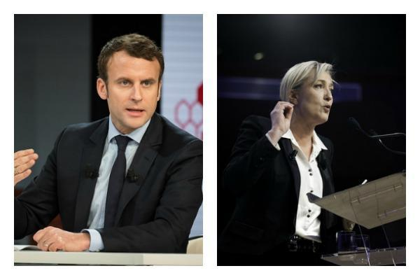 Macron favori face à Le Pen pour le second tour https://t.co/zpbxsKZT5...