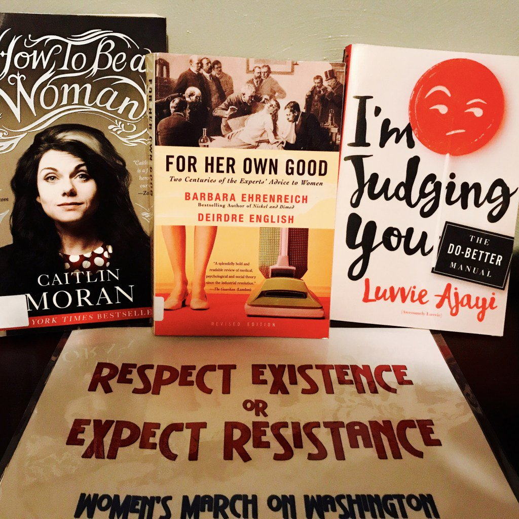 Feminist Reads.....#feminism #yearlongstudy #luvvieajayi #caitlinmoran #barbaraehrenreich…  http:// bookhippie.com/index.php/2017 /04/24/feminist-reads/ &nbsp; … <br>http://pic.twitter.com/3dTOgR8WS1