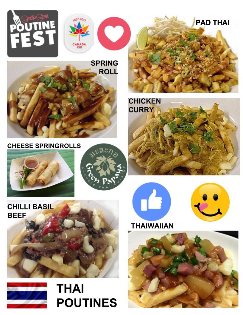 #favourite #Original #thai #poutine is coming this weekend @SparksStreet #poutinefest #ottawa #canada150  #ottawaevents #foodtrucks #Foodie<br>http://pic.twitter.com/m2W0Hlw2CT