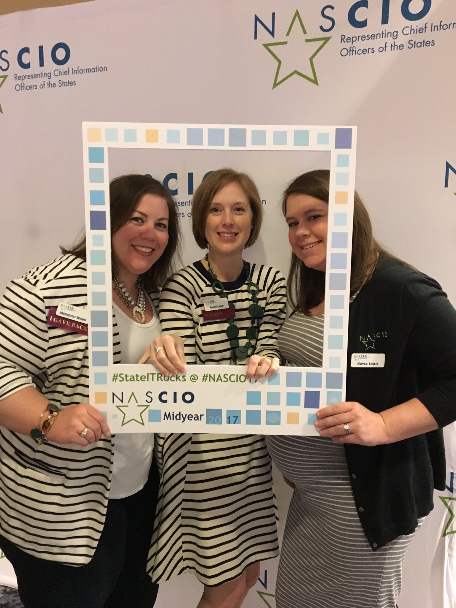 At @NASCIO we wear stripes #NASCIO17 https://t.co/hgzWlOGT5i