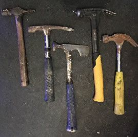 hammers, screws & nails