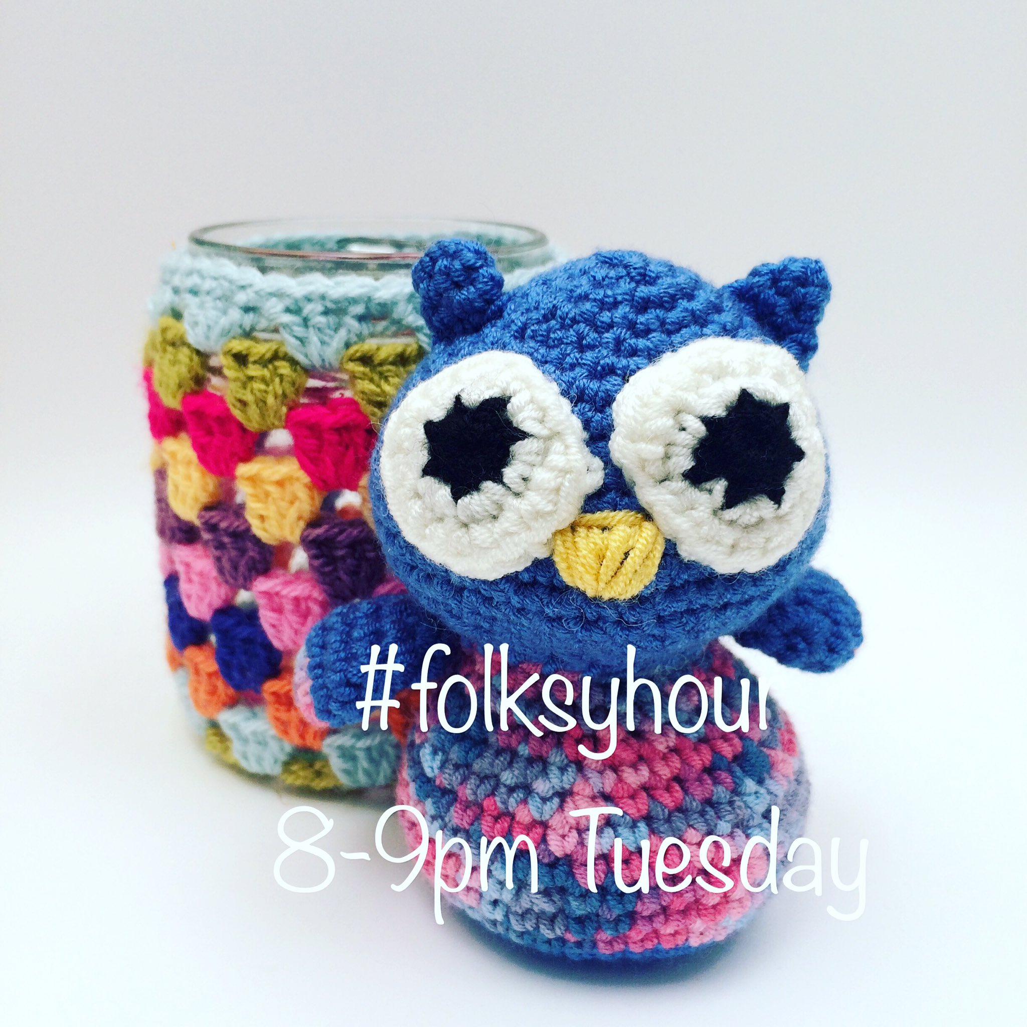 Super-excited to be hosting #folksyhour tomorrow evening 8-9pm! We'll be chatting about craft and wellbeing @folksy https://t.co/TMfYg9MDYP