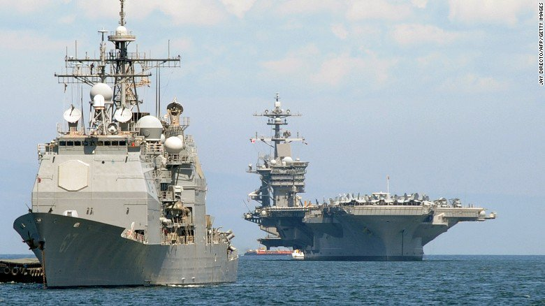 North Korea: We are ready to sink American aircraft carrier with a single strike
