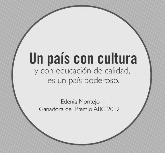 La mejora inversión de un país, es la educación.  #FelizLunes #PremioA...