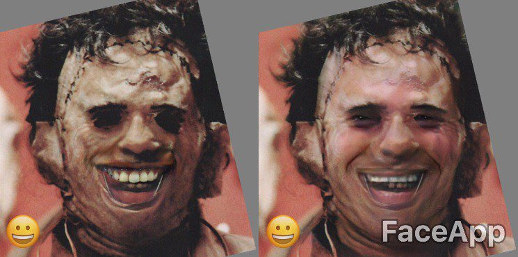 Horror Icons Get the #FaceApp Makeover https://t.co/kSZl9kFTvP https:/...