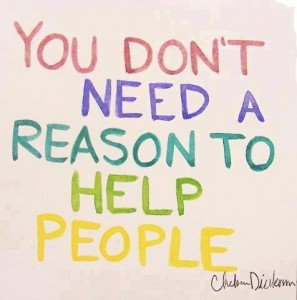 Helping people spreads so many positive endorphins, do a good deed today!  #positive #help #peace #love #quote <br>http://pic.twitter.com/yaibEklLc9