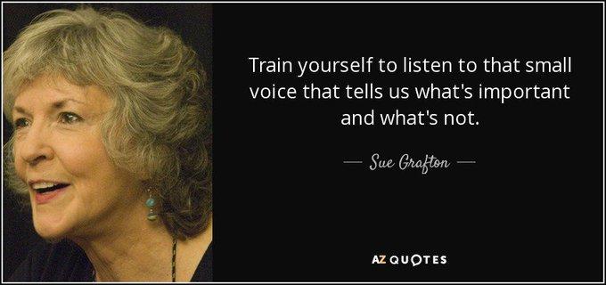 Happy Birthday Sue Grafton!
