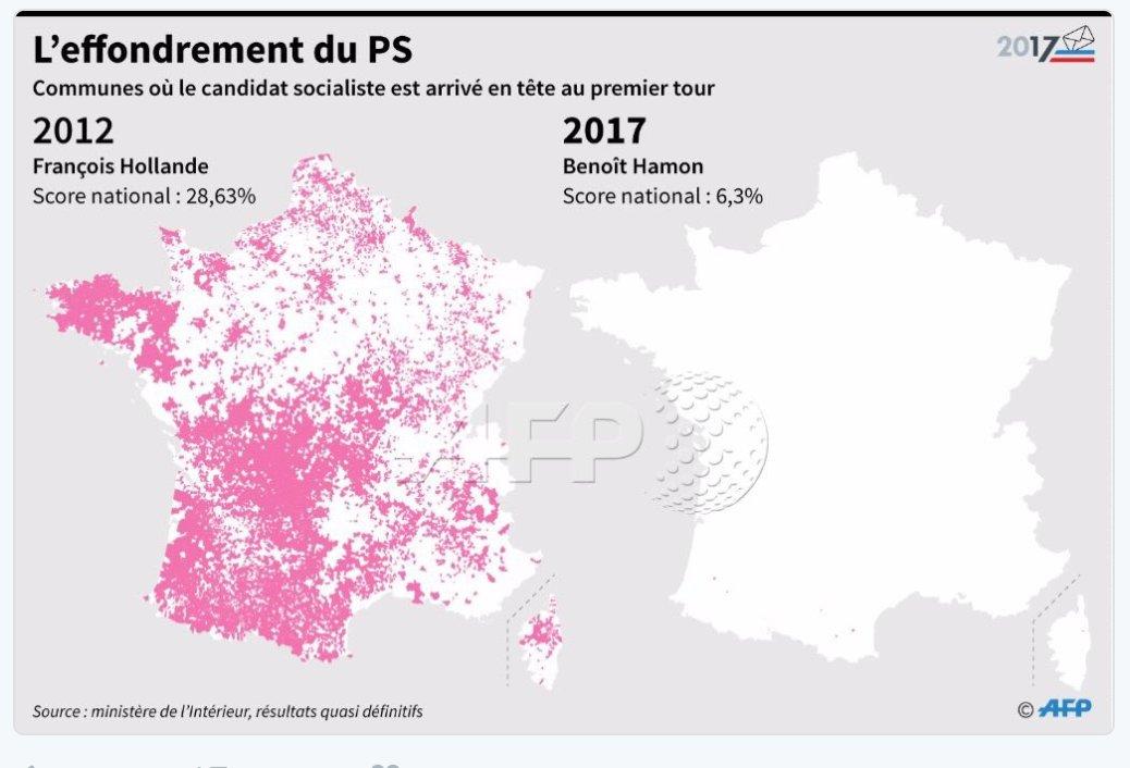 De toutes les datas, résultats et analyses qui arrivent de partout, cette carte de France est juste stupéfiante ! Qui aurait pu l'imaginer?