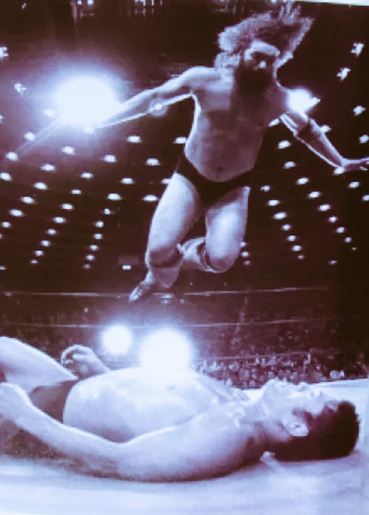 The GREAT #BrusierBrody flying through the air versus #GiantBaba #AJPW #NJPW #IWGP #JapaneseWrestling #NWA @ZeusKing_DARK @xWorldChampionx<br>http://pic.twitter.com/ji0LbEMamJ