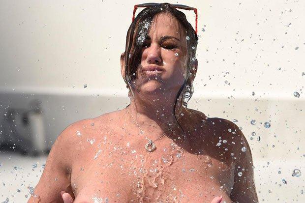 That interrupt boob falls out of bikini
