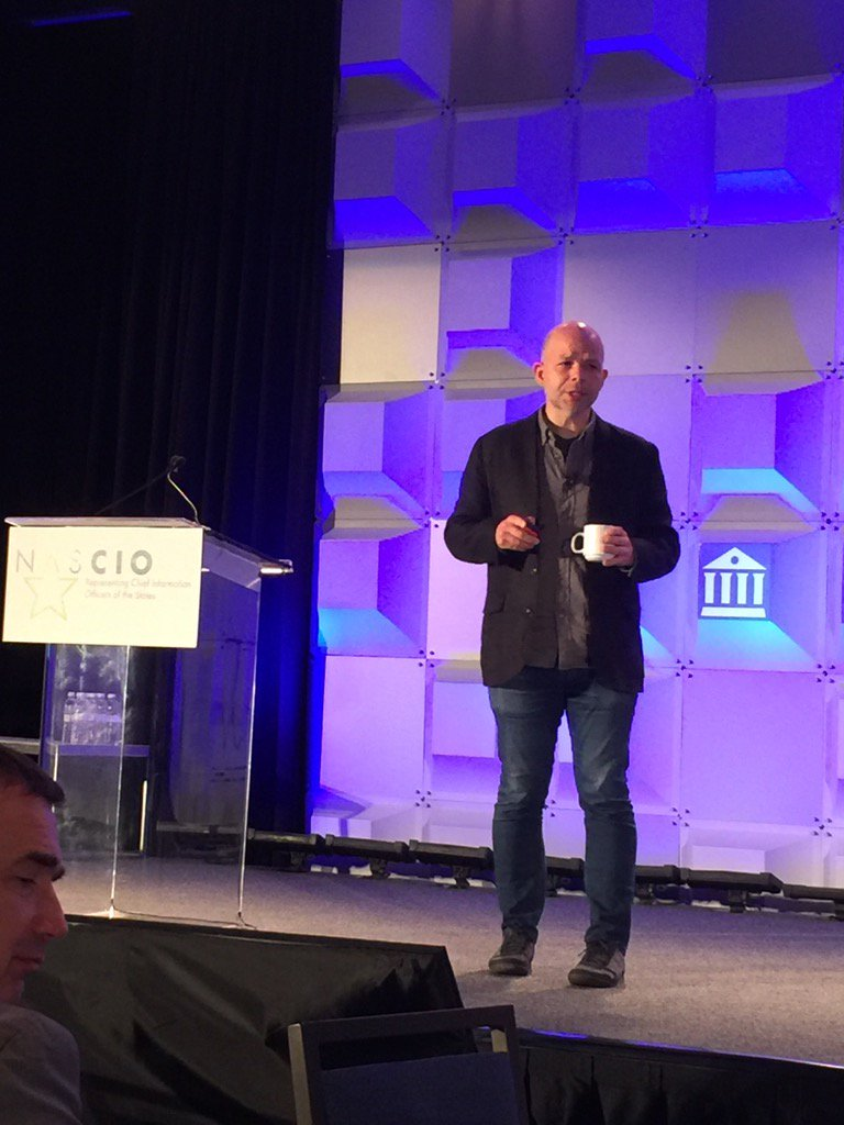 @NASCIO speaker @scottxwayne - innovation is new, executable, and aligned w market #NASCIO17 https://t.co/SlEHNKZsnS