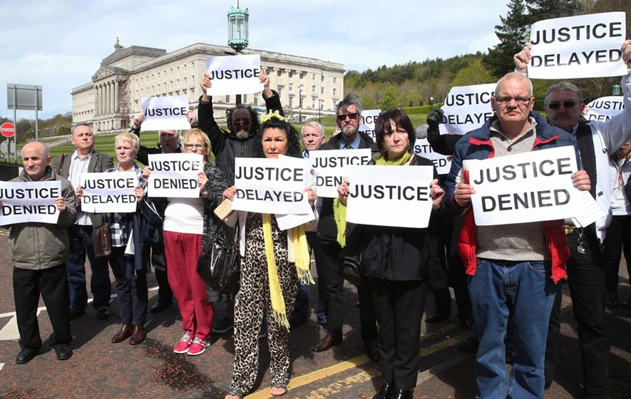 Child abuse survivors in Stormont march for justice https://t.co/fuNKs...