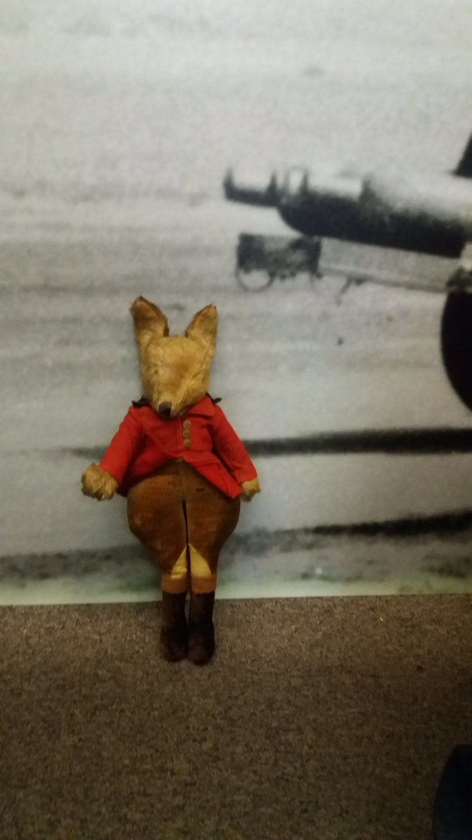 Catch #MrFox &amp; his adventures on @BBCRadioLincs #DriveTime this afternoon 3:15pm #BomberCommand #WW2 #LincsConnect #Lincolnshire #Radio <br>http://pic.twitter.com/JUPvnpPUvM