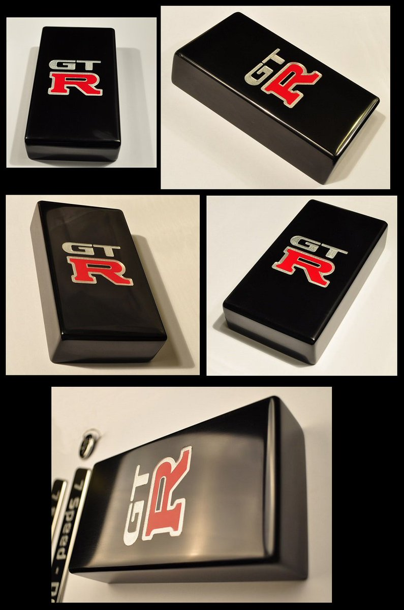 "Kustom 20 on Twitter: ""R32 GTR Nissan Skyline - Fuse Box Cover - CNC Billet  - Machined Logo Brembo Red Inlay - Sinister Black Anodized - Another Happy  ..."