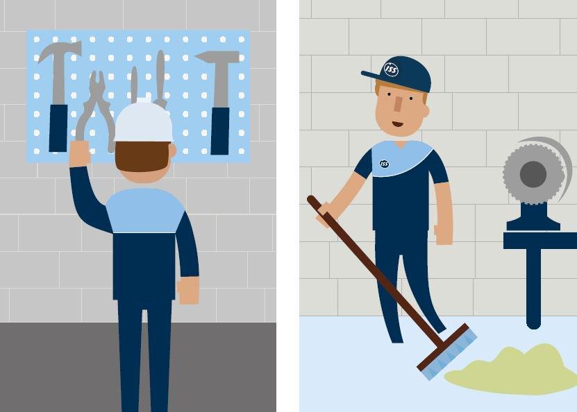 Iss facilityservices on twitter mantener tu rea de for Trabajo para limpiar oficinas