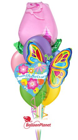 Surprise your Mom, Nana or Aunt with a Mother&#39;s Day balloon bouquet! #balloons #delivery #Pittsburgh #MothersDay   https://www. balloonplanet.com/delivery/mothe rs-day-pink-rose-butterfly-103/ &nbsp; … <br>http://pic.twitter.com/qnKzYC4RoZ
