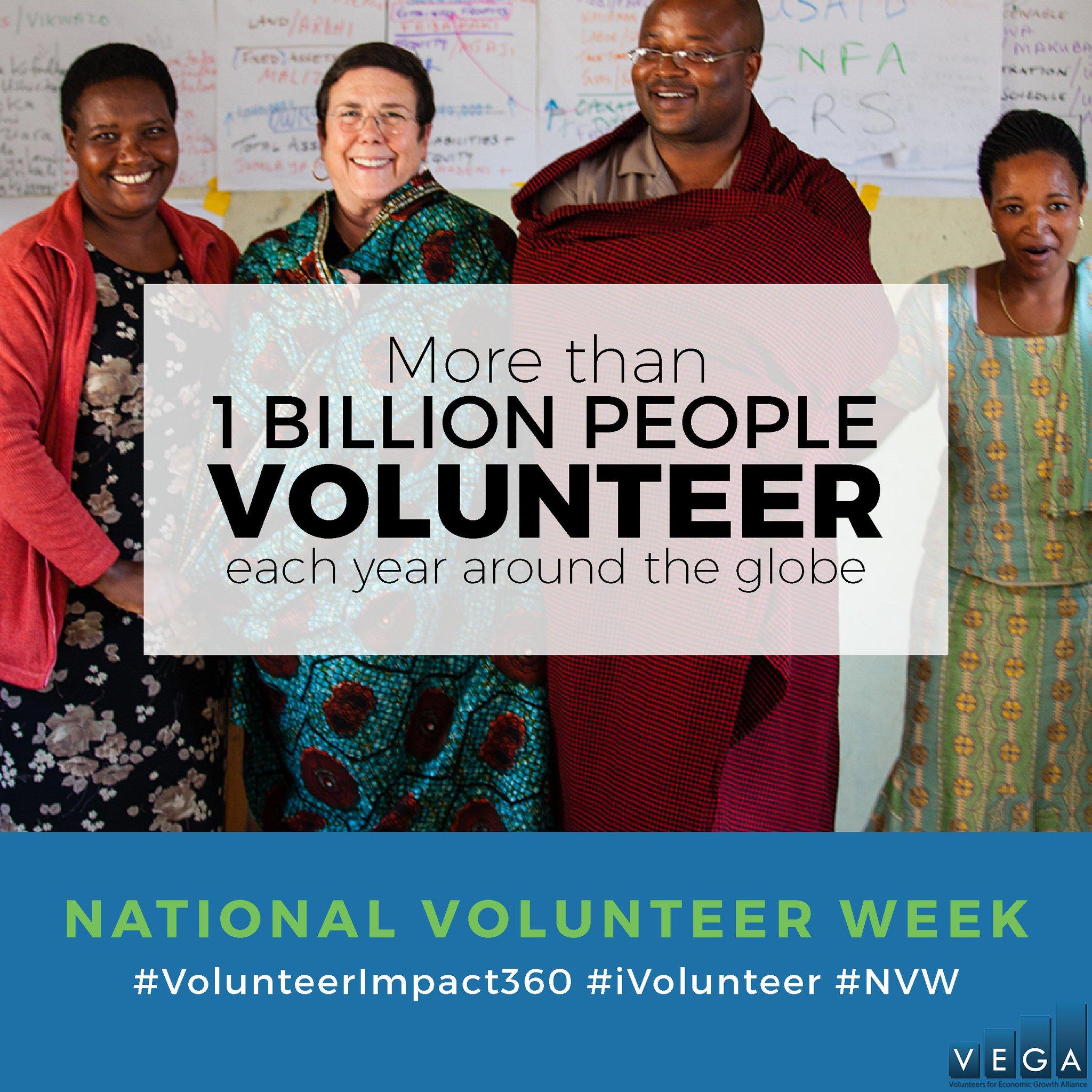#DYK 1 BILLION people around the 🌎 volunteer every yr? If u #volunteer, give us a shout! #NVW #iVolunteer #VolunteerImpact360 @PointsofLight https://t.co/iFnf07ORx7