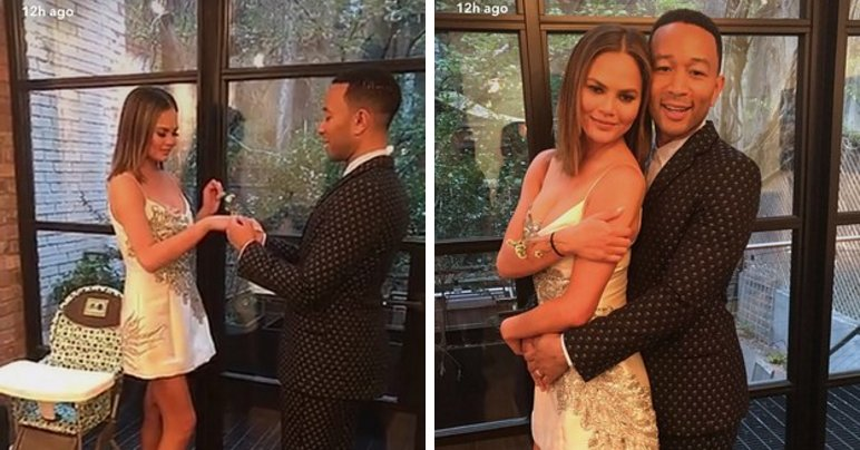 Chrissy Teigen and John Legend recreated prom for their latest date and it\'s adorable