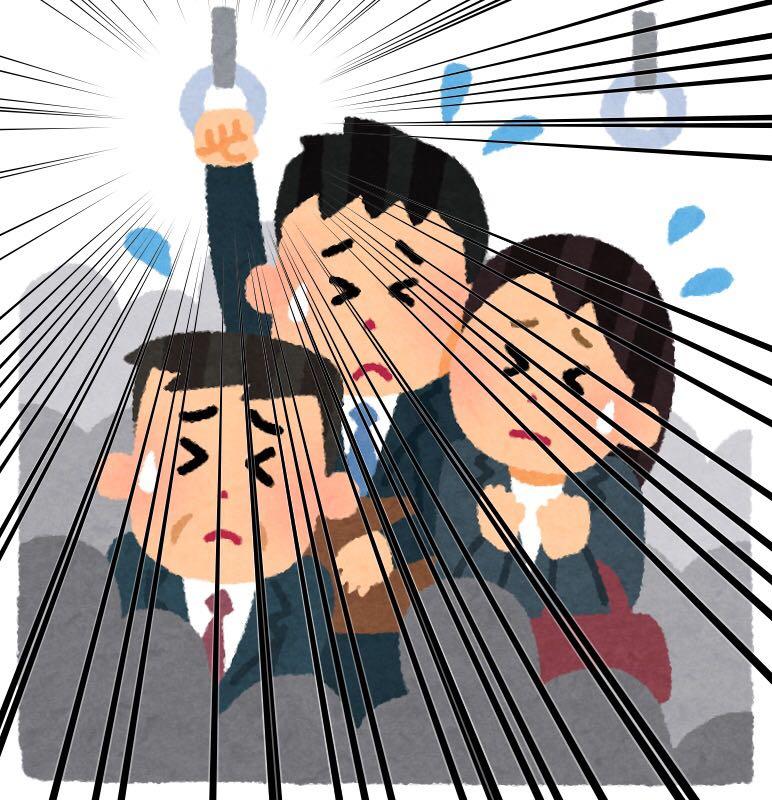 つり革が軋んだ時に出る「グリュリュ…ギィィギシギシギギィィィ」という音  #他人に理解されにくい自分の嫌いなもの https:/...