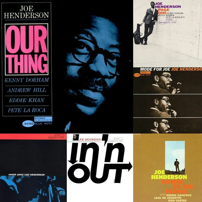 Happy Birthday to the late great jazz tenor saxophonist Joe Henderson.